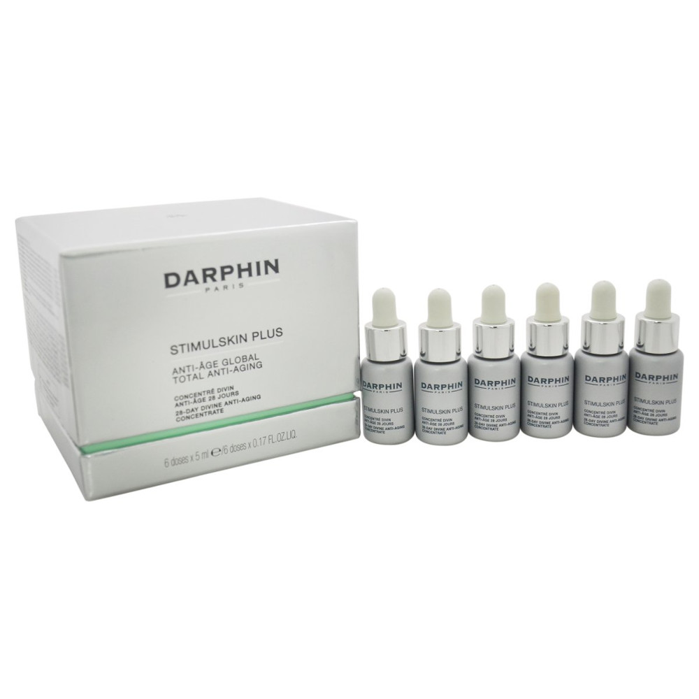 DARPHIN 28 Day Divine Anti-Aging Concentrate Εντατική Θεραπεία Ανανέωσης των Κυττάρων 6 Doses x 5ml