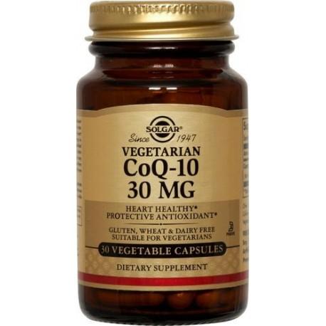 SOLGAR Coenzyme Q-10 30mg - 30veg.caps