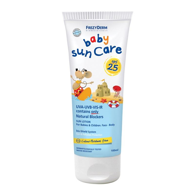 FREZYDERM Baby Sun Care SPF25, Βρεφικό Αντηλιακό - 100ml