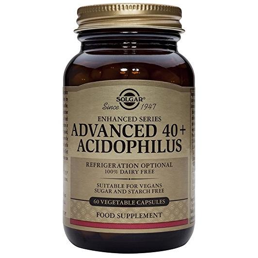 SOLGAR  Advanced 40+ Acidophilus - 60veg.caps