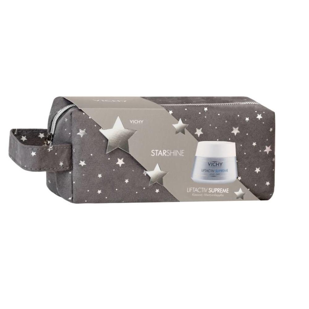 VICHY Starshine Liftactiv Supreme για Κανονική-Μικτή Επιδερμίδα - 50ml με Δώρο Γιορτινό Νεσεσέρ