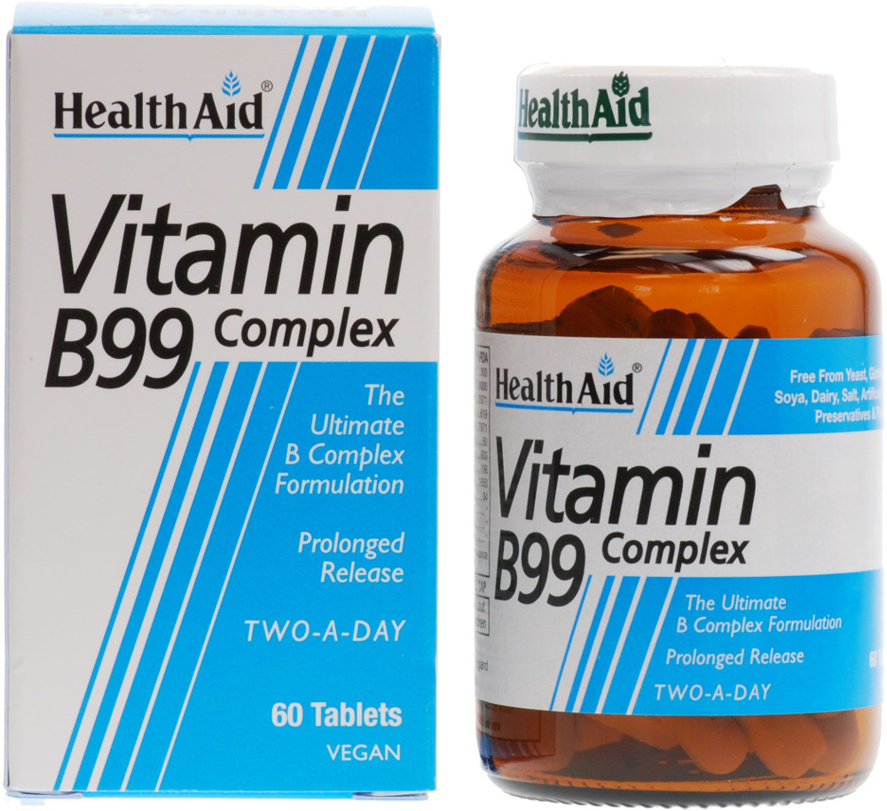 HEALTH AID B99 Complex - 60tabs