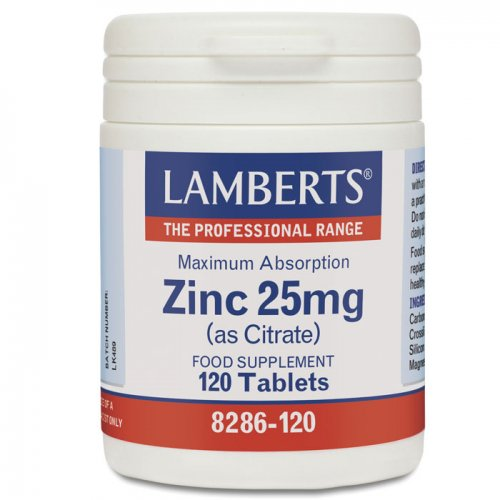 LAMBERTS Zinc 25mg(as Citrate) 120tabs