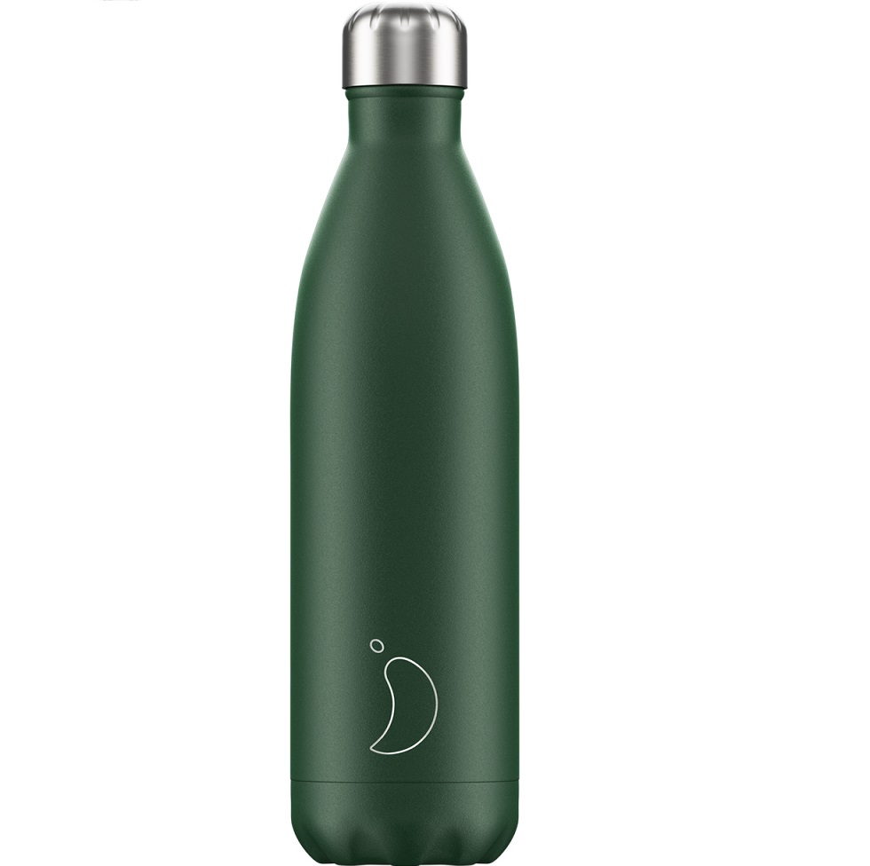 CHILLYS BOTTLES Μπουκάλι - Θερμός, Matte Green - 750ml