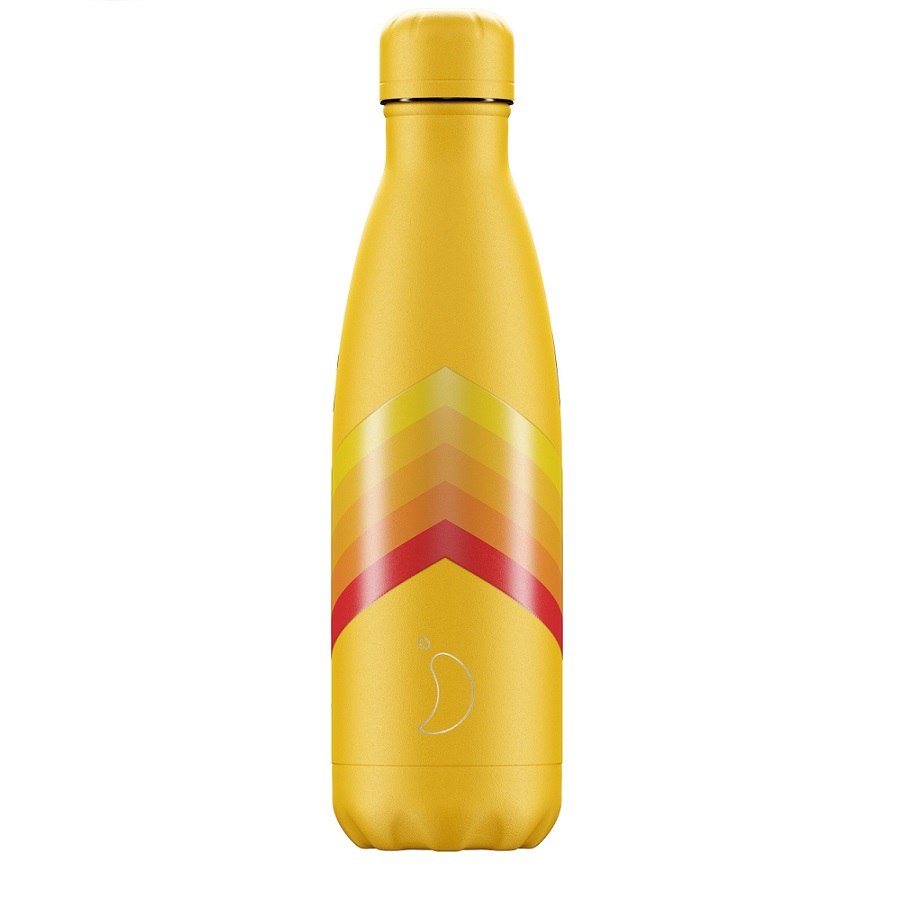 CHILLYS BOTTLES Μπουκάλι- Θερμός Retro Edition Zigzag - 500ml