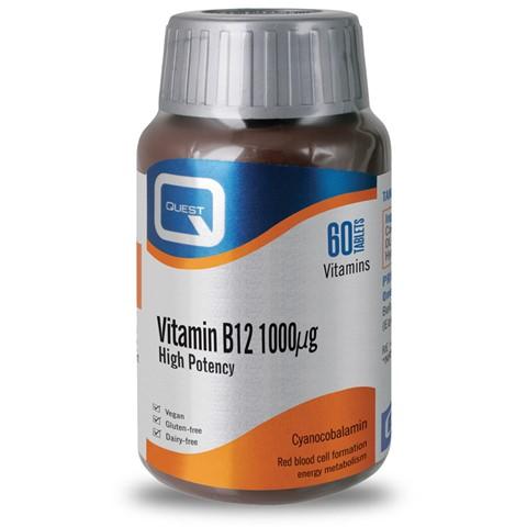 QUEST Vitamin B12 1000μg - 60tb