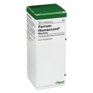 HEEL FERRUM HOMACCORD 30ml
