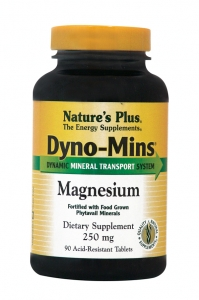 NATURE΄S PLUS Dyno- Mins Magnesium 250mg - 90tabs