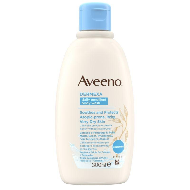 AVEENO Dermexa Body Wash, Ενυδατικό Υγρό Καθαρισμού - 300ml