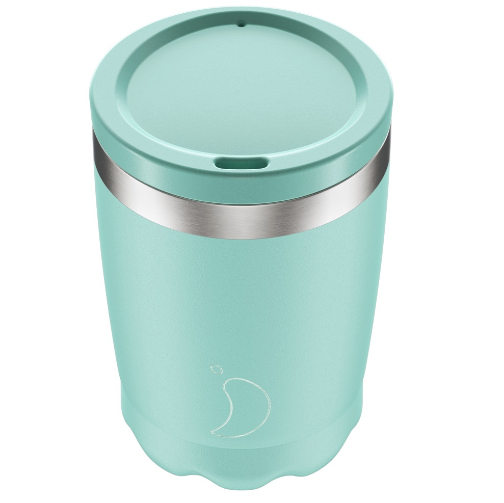 CHILLYS BOTTLES Coffee Cup, Κούπα- Θερμός, Pastel Green - 340ml