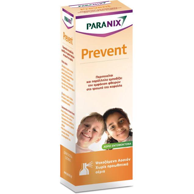PARANIX Prevent - Ψεκαζόμενη Προληπτική Αντιφθειρική Λοσιόν 100ml