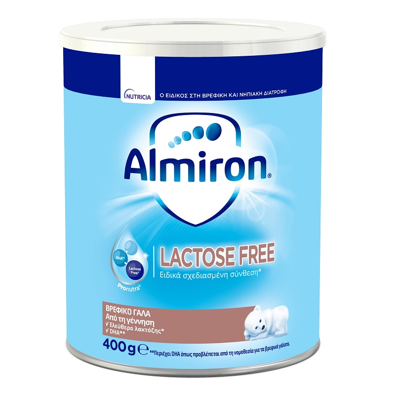 ALMIRON FL, Γάλα για Βρέφη με Δυσανεξία στη Λακτόζη - 400gr