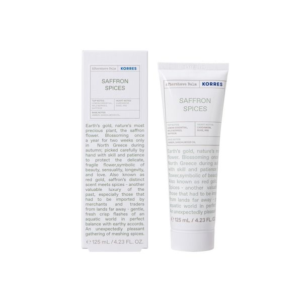 KORRES After Shave Balm Safron Spices - 125ml