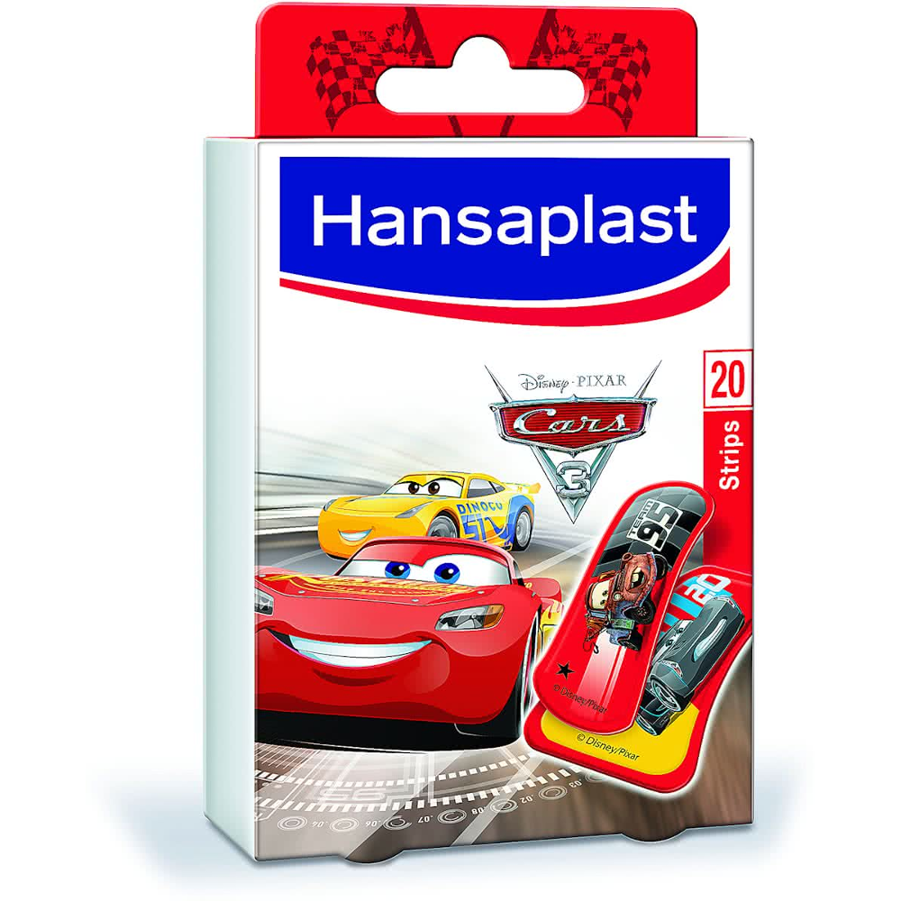HANSAPLAST Cars Αυτοκόλλητα Επιθέματα 20τμχ