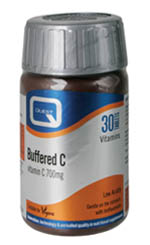 QUEST Buffered C 700mg Calcium Ascorbate 30Tabs