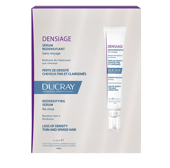 DUCRAY Densiage Serum Redensifiant, Ορός πυκνότητας - 3x30ml
