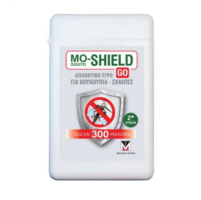 MENARINI Mo- Shield Go, Απωθητικό Υγρό για Κουνούπια & Σκνίπες - 17ml