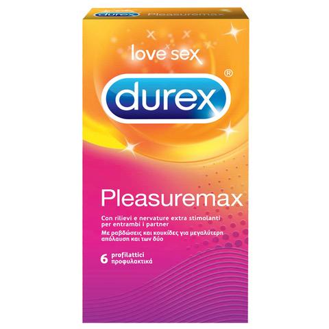 DUREX Pleasuremax 6τμχ