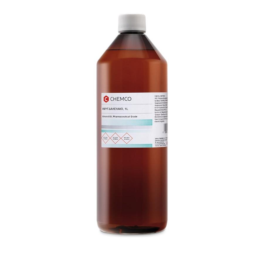CHEMCO Almond Oil, Αμυγδαλέλαιο Φαρμακευτικό - 1lt