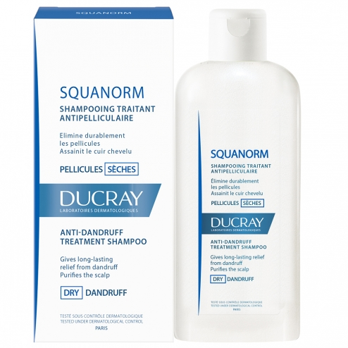 DUCRAY Squanorm Σαμπουάν για Λιπαρή Πιτυρίδα 200ml