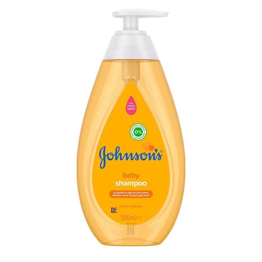 JOHNSONS Baby Shampoo, Παιδικό Σαμπουάν Όχι πια Δάκρυα - 500ml