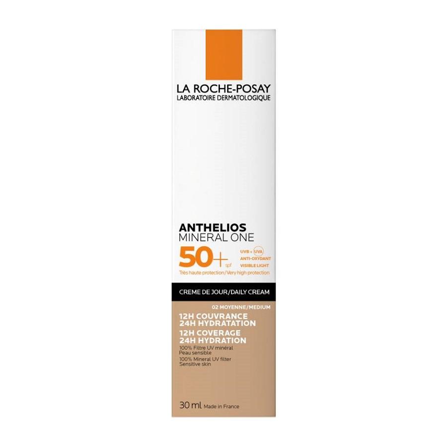 LA ROCHE POSAY Anthelios Mineral One SPF50+ (2-medium), Αντηλιακή Κρέμα με Χρώμα - 30ml