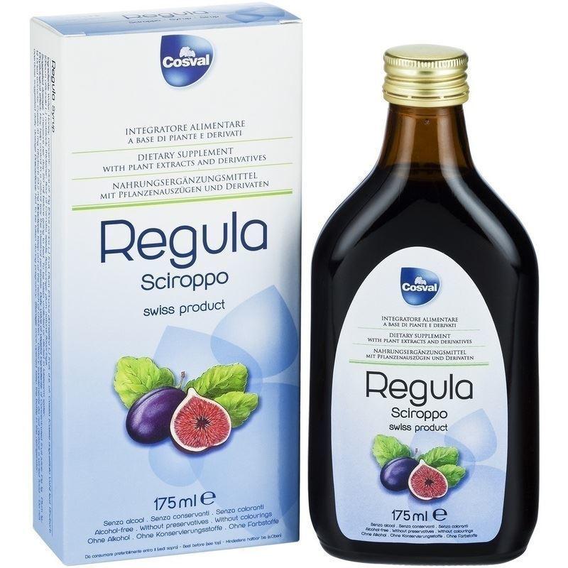 COSVAL Regula Σιρόπι, Φυτικό Συμπλήρωμα για την Αντιμετώπιση της Δυσκοιλιότητας - 175ml