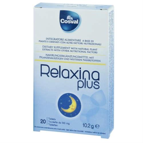 COSVAL Relaxina Plus, Φυτικό Συμπλήρωμα Διατροφής κατά της Αϋπνίας - 20 tabs