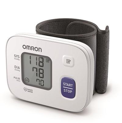 OMRON RS2 Ψηφιακό Πιεσόμετρο Καρπού με Ανίχνευση Αρρυθμίας HEM-6161