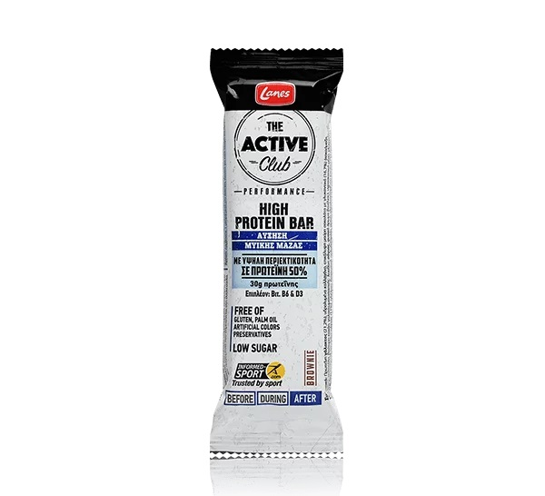 LANES The Active Club, High Protein Bar, Πρωτεϊνική Μπάρα - 60gr