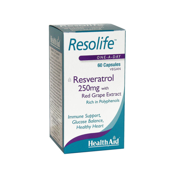 HEALTH AID  Resolife 250mg - 60caps