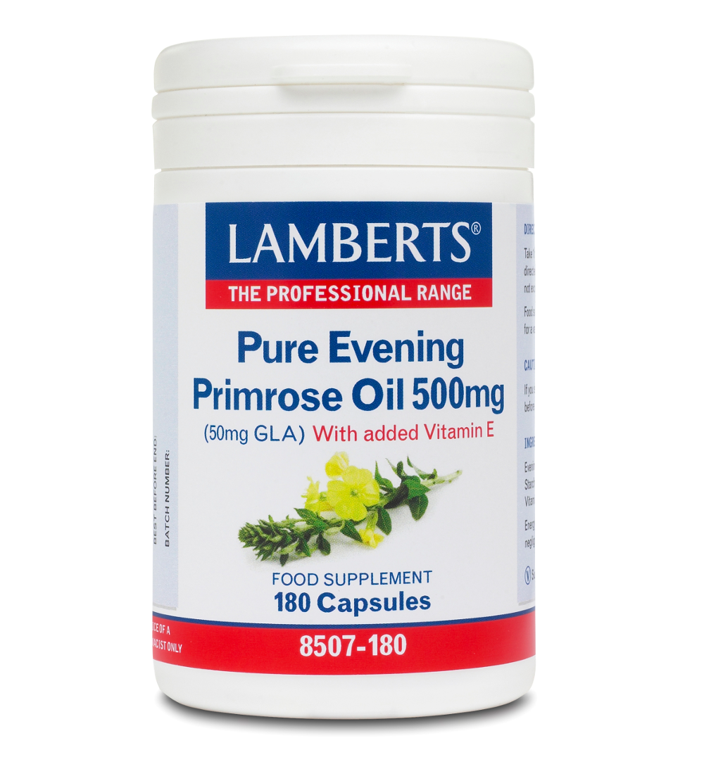 LAMBERTS Evening Primrose Oil 500mg 180caps