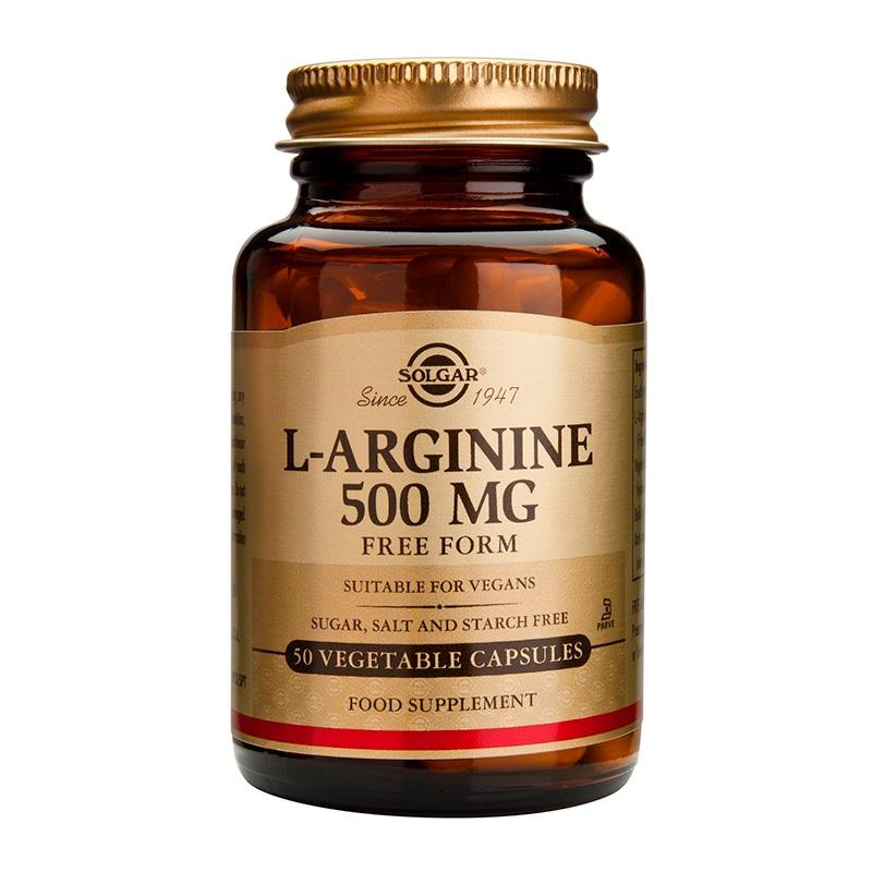 SOLGAR L-Arginine 500 mg - 50veg.caps