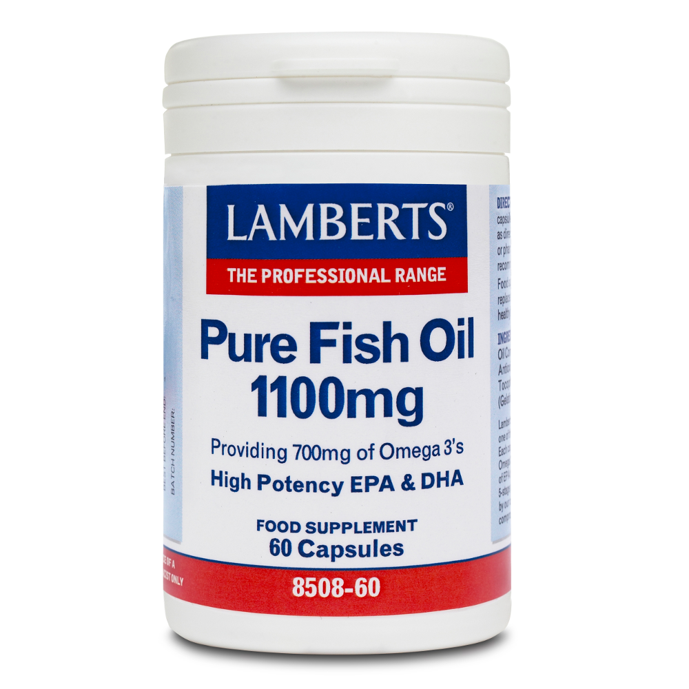 LAMBERTS Pure Fish Oil 1100mg - 60caps