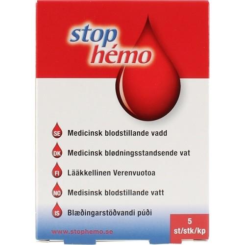 STOP HEMO - Αιμοστατικό 5τμχ
