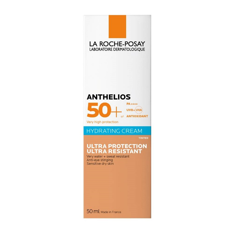 LA ROCHE POSAY Anthelios Ultra Tinted BB Cream SPF50+, Δερματολογική Αντιηλιακή Κρέμα με Χρώμα - 50ml