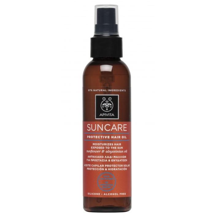 APIVITA Suncare Αντηλιακό Λάδι Μαλλιών για Προστασία & Ενυδάτωση 150ml
