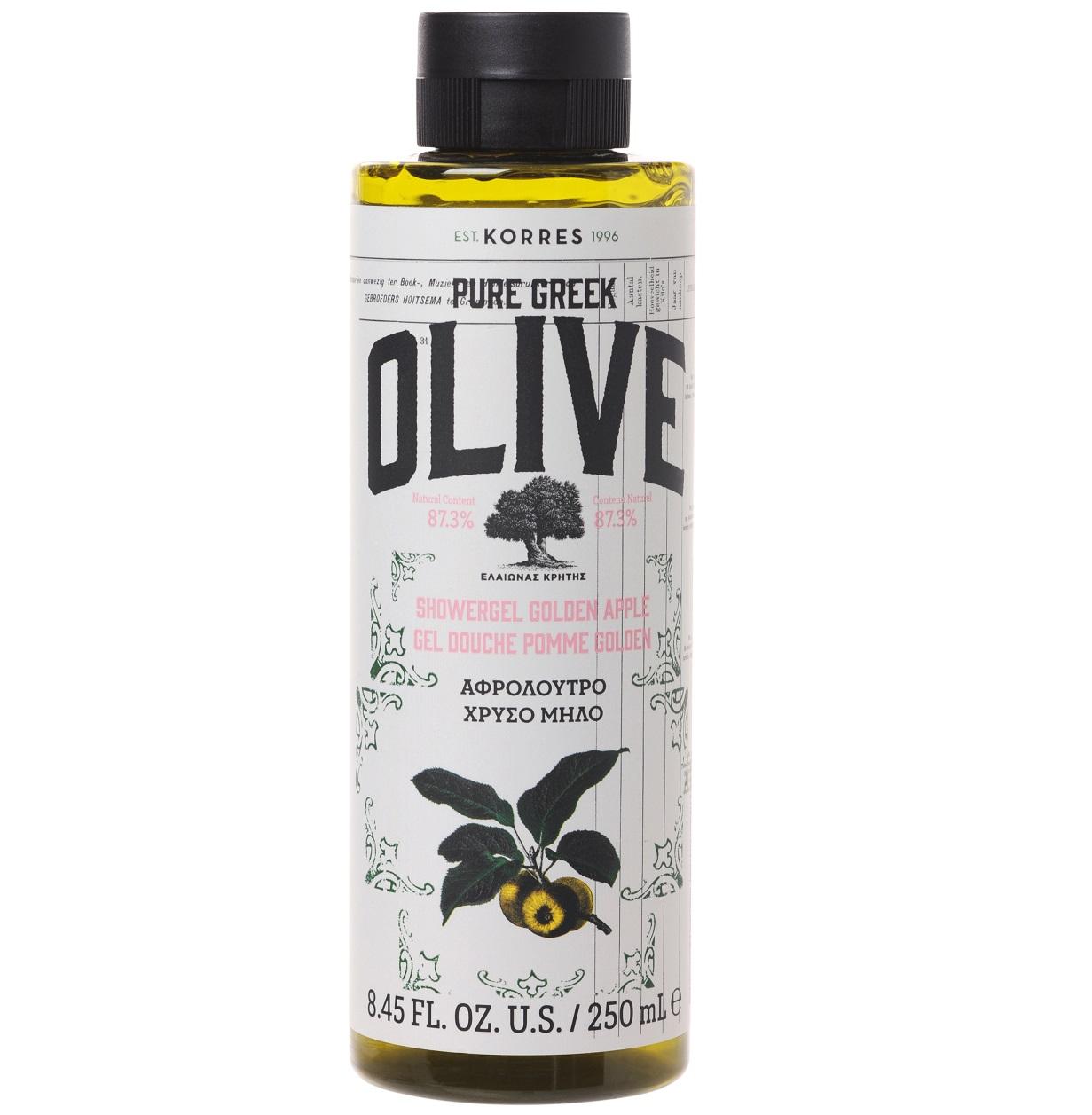 KORRES Pure Greek Olive, Αφρόλουτρο Χρυσό Μήλο - 250