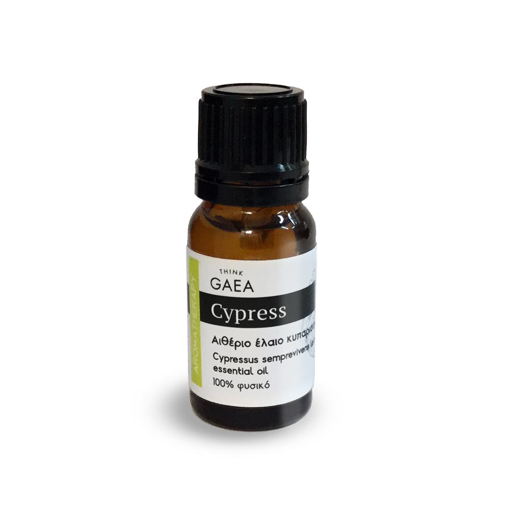 THINK GAEA Cypress Αιθέριο Έλαιο Κυπαρισσιού 10ml