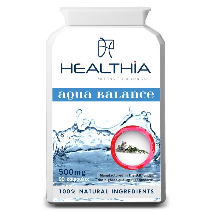 HEALTHIA Aqua Balance 500mg - 90 κάψουλες