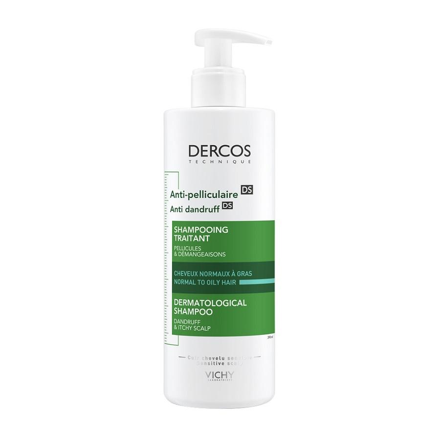 VICHY Dercos Anti- Dandruff, Σαμπουάν Αντιπιτυριδικό Κανονικά/ Λιπαρά Μαλλιά - 390ml