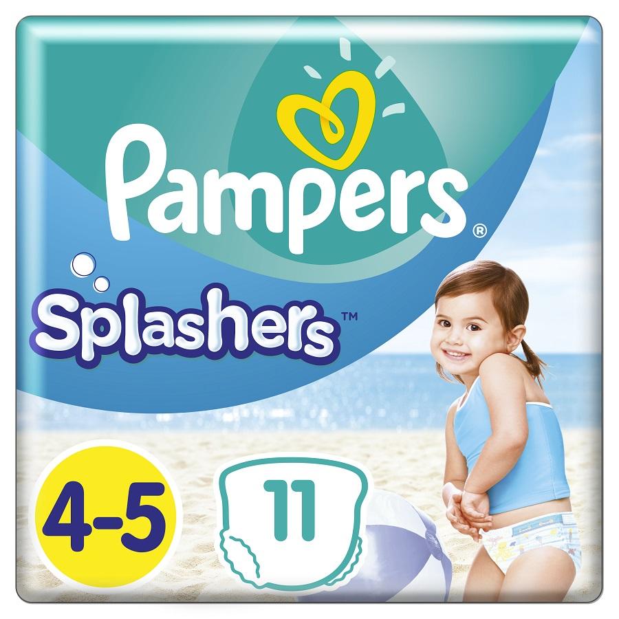 PAMPERS Splashers No 4-5 (9-15kg) - 11τμχ