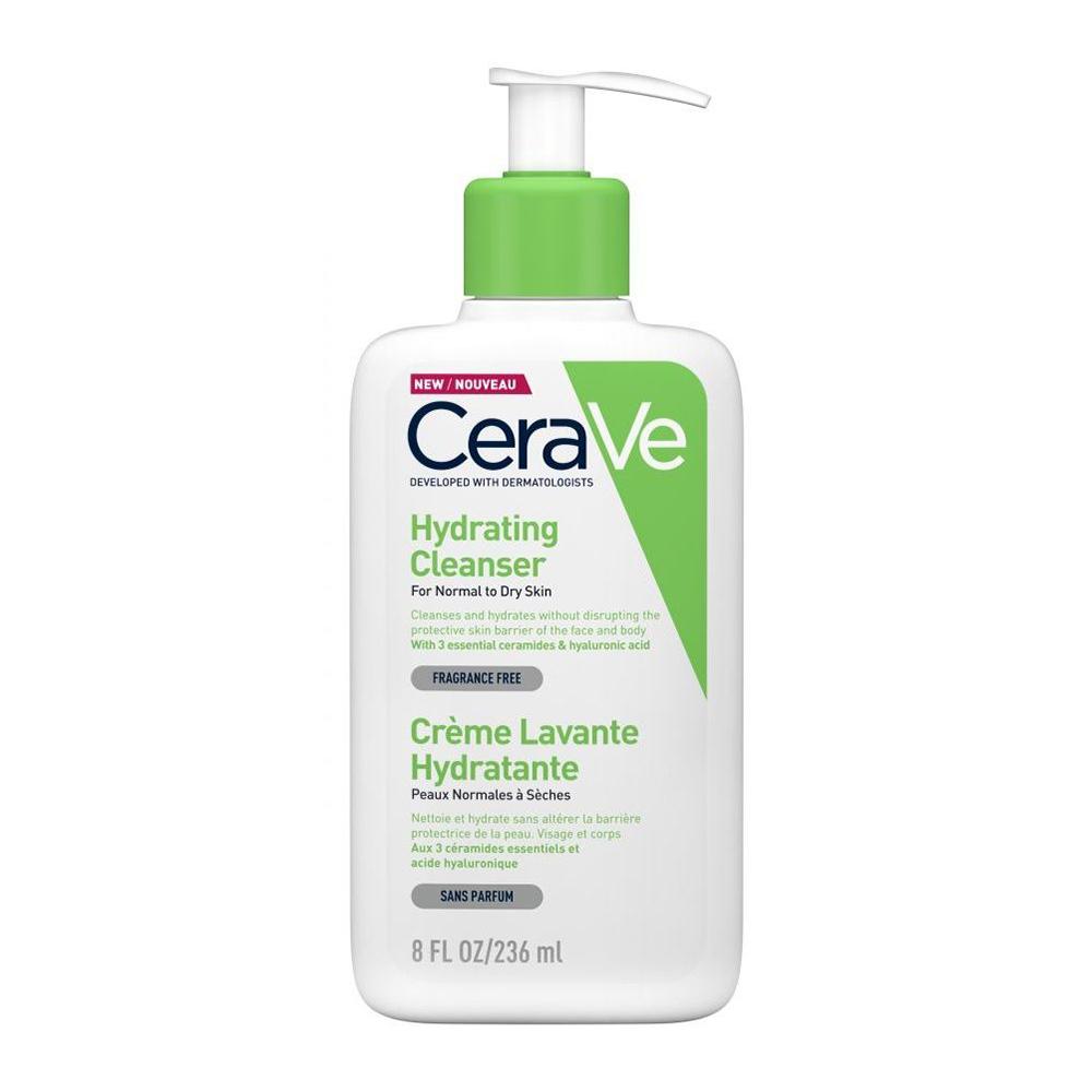 CERAVE Hydrating Cleanser Κρέμα Καθαρισμού Προσώπου & Σώματος - 236ml
