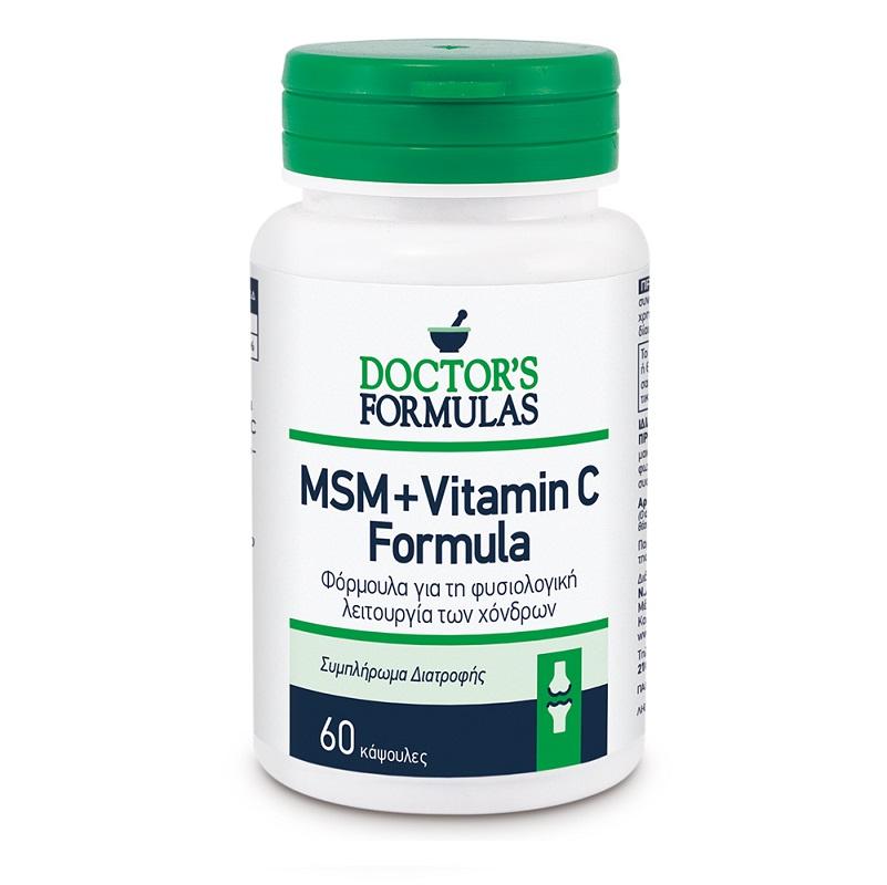 DOCTORS FORMULAS MSM+ Vitamin C Formula - 60caps