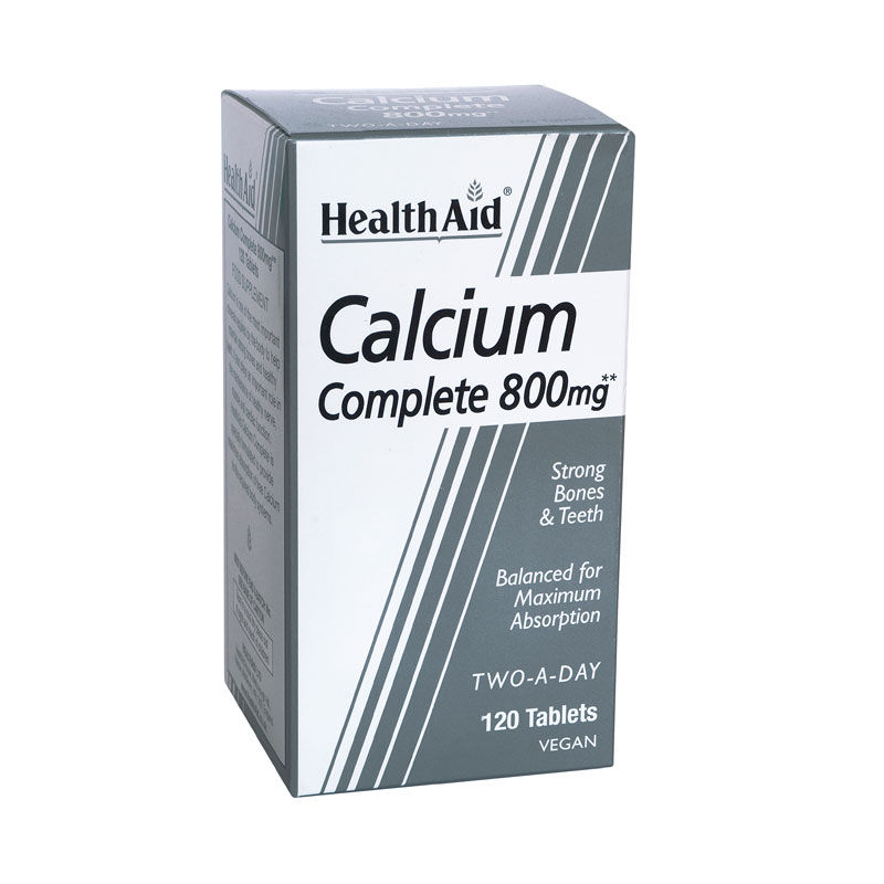 HEALTH AID Calcium Complete 800mg - 120tabs