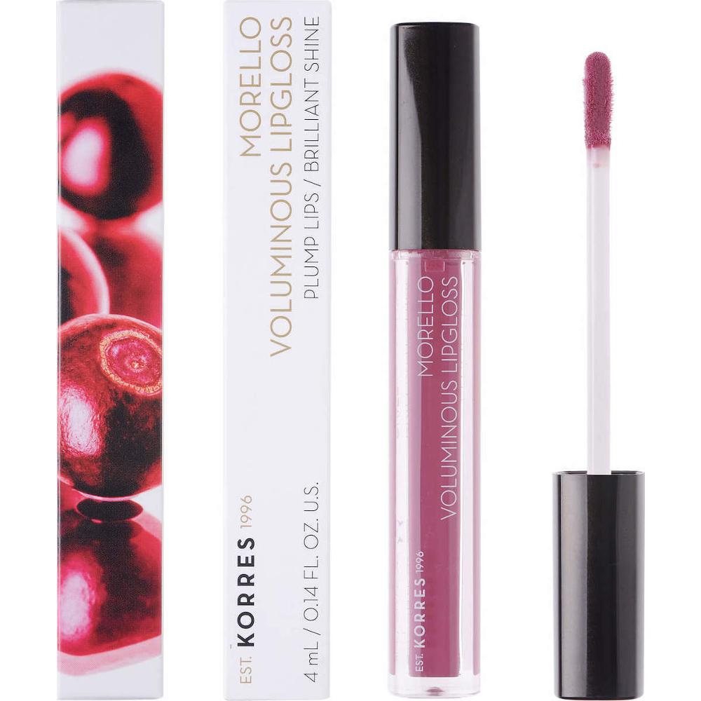 KORRES Morello Voluminous Lip Gloss 27 Berry Purple 4ml