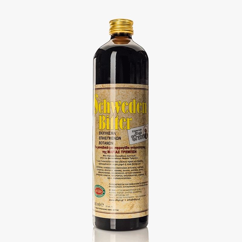 SCHWEDEN Bitter, Εκχύλισμα Επιλεγμένων Βοτάνων - 500ml