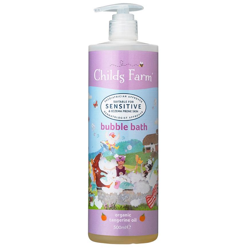 CHILDS FARM Bubble Bath, Παιδικό Αφρόλουτρο, Οργανικό Μανταρίνι - 500ml