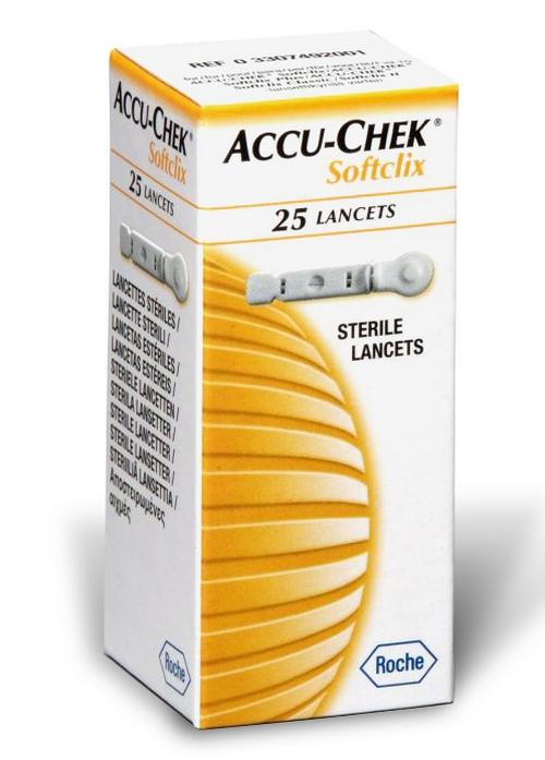 ROCHE Accu - Chek Softclix Lancets - 25 βελόνες
