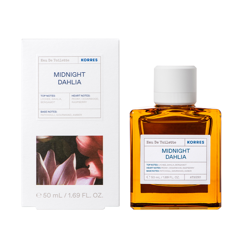 KORRES Eau De Toilette, Midnight Dahlia - 50ml